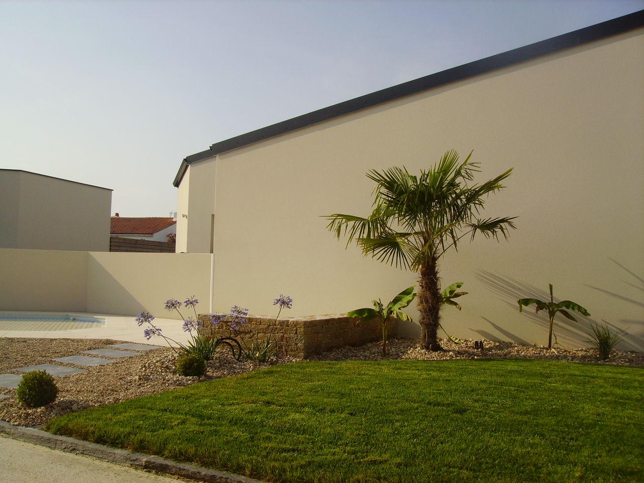 creation de jardin chateau d 39 olonne mai 2015 ecce terra paysagiste pays des olonnes. Black Bedroom Furniture Sets. Home Design Ideas